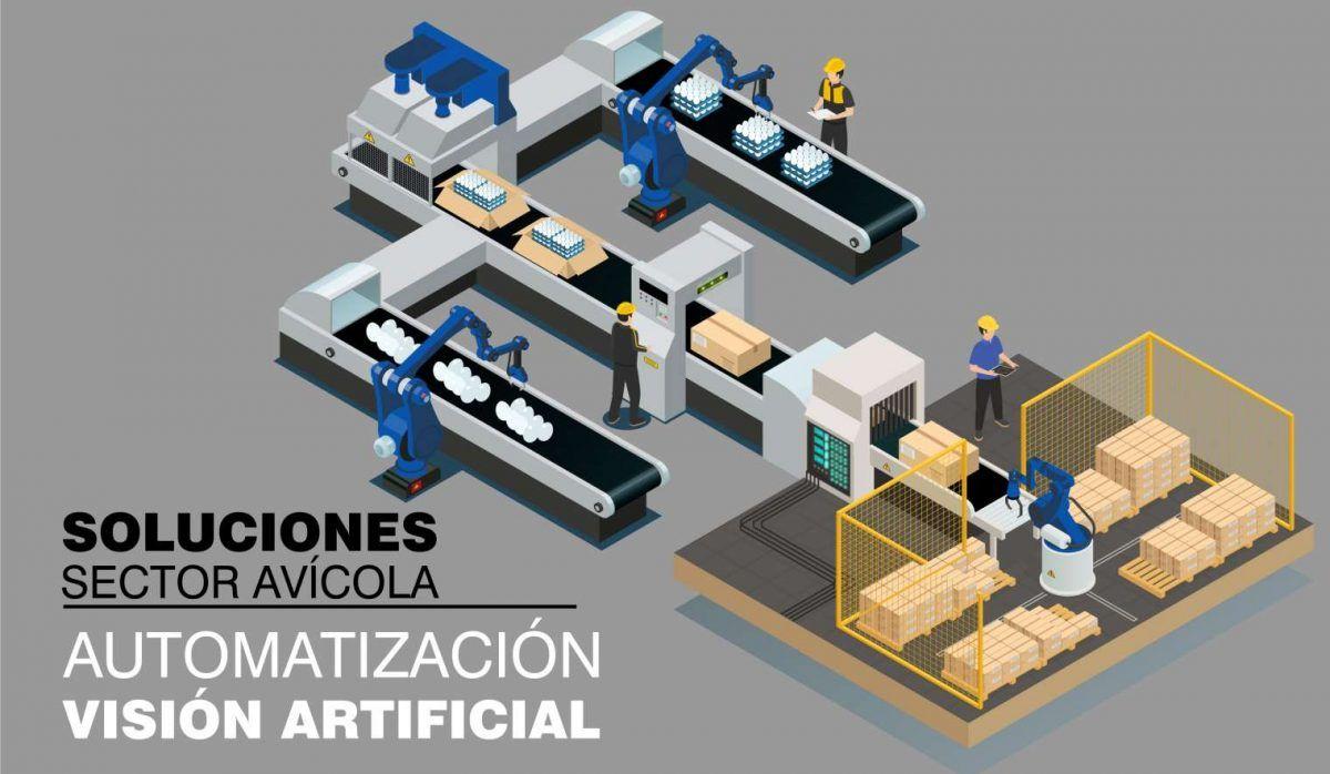Automatización y visión artificial para el sector avícola