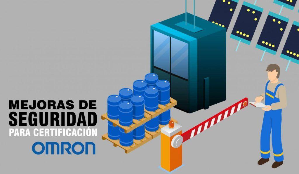 not3 1024x596 - Mejoramos el sistema seguridad para certificación OMRON en una empresa de productos químicos