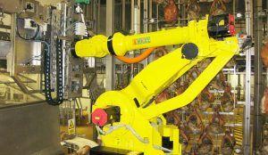 apilado de jamones 300x174 - Automatización y Robótica industrial para el tratamiento de piezas de jamón