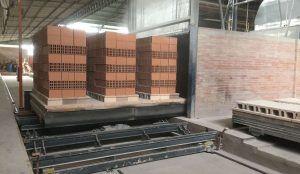 """salida horno cimet 300x174 - Automatización """"FULL"""" para una Planta Cerámica Estrucrtural en COLOMBIA"""