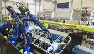 soldadura 300x174 - Automatización y robótica industrial para soldadura de vallas metálicas