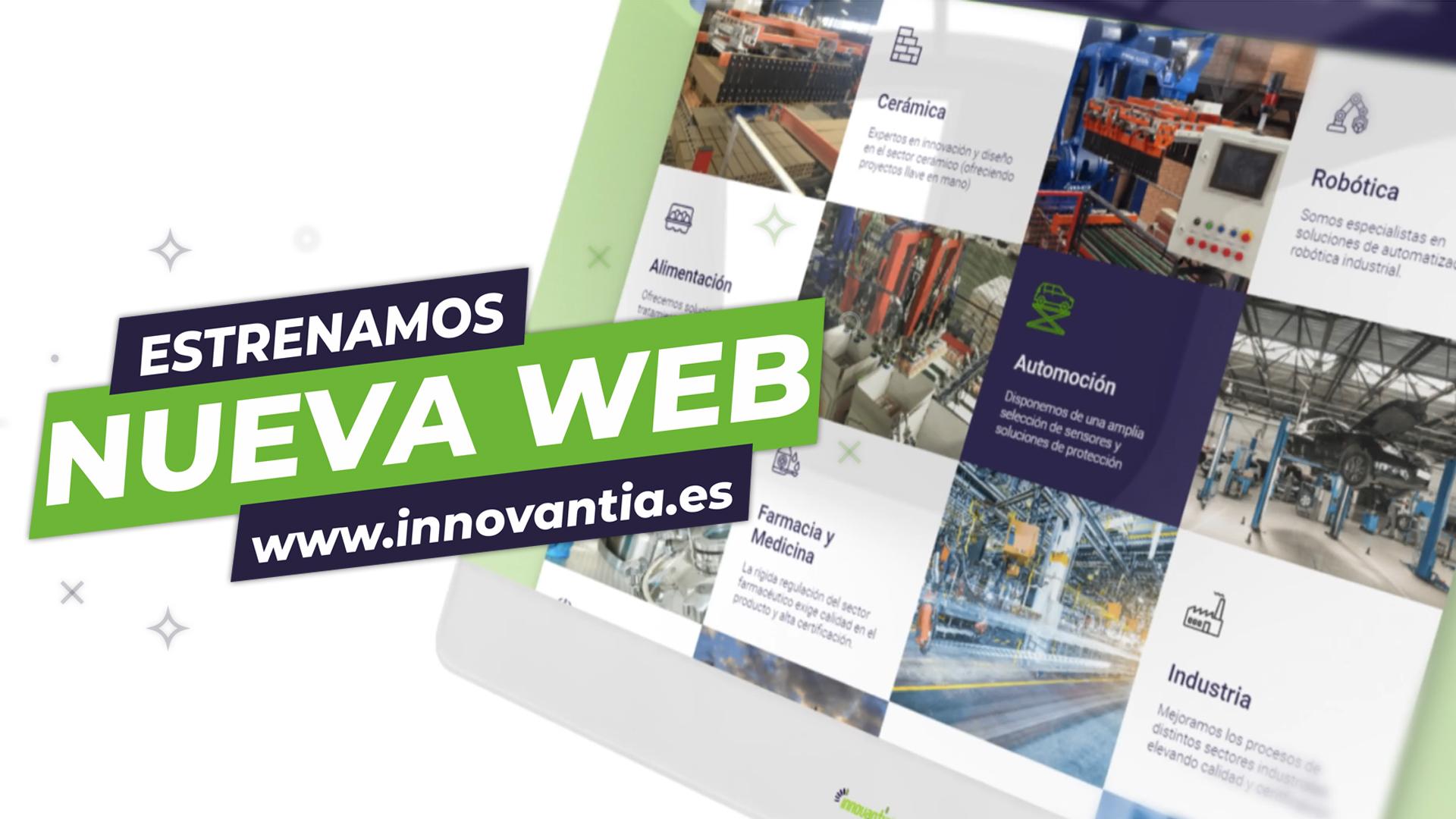 PROMO WEB - ¡Ya es oficial! Te invitamos al ¡Estreno de nuestra nueva web!